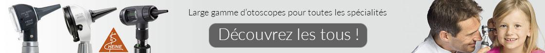 Otoscopes achats en ligne