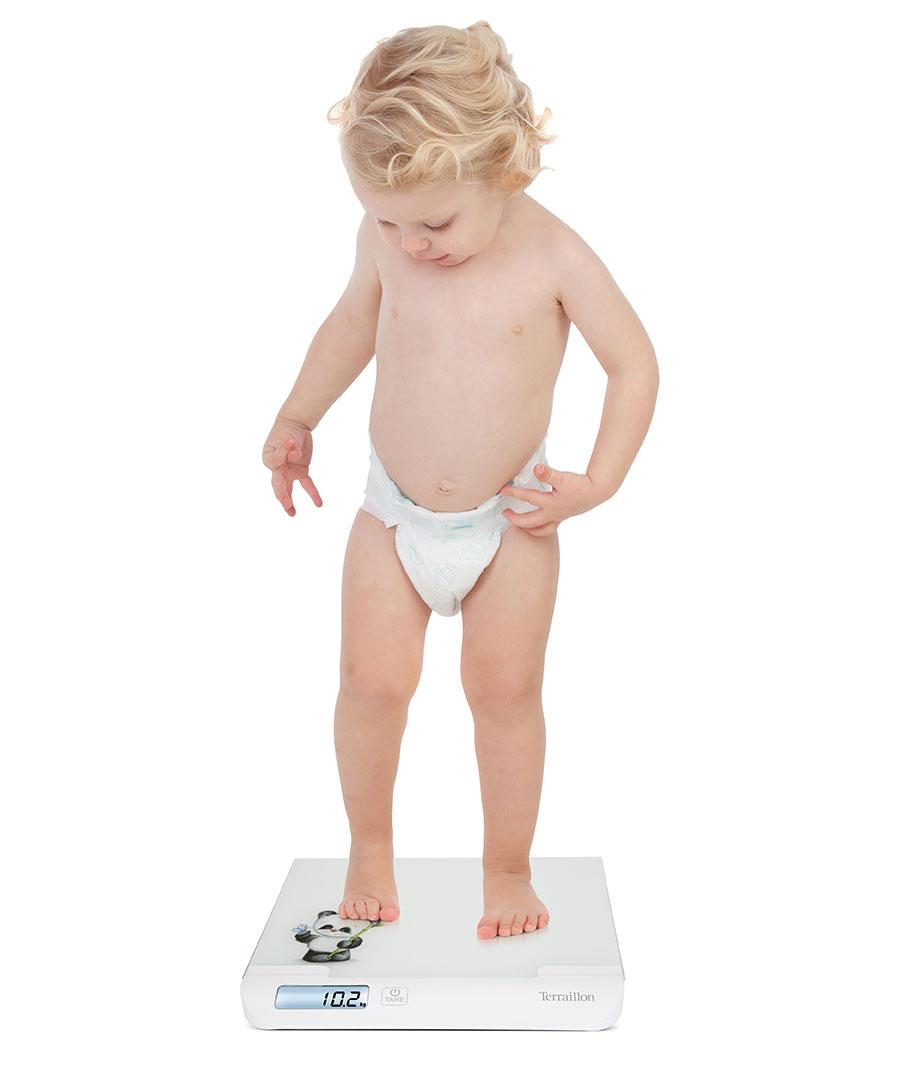 pèse bébé teraillon BABYSCALE