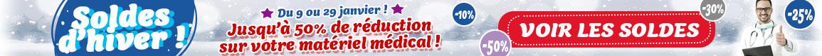 Soldes matériel médical
