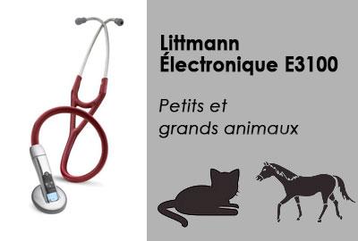 Stéthoscope pour nouveaux animaux de compagnie