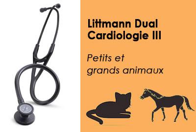 Stéthoscope pour vétérinaires