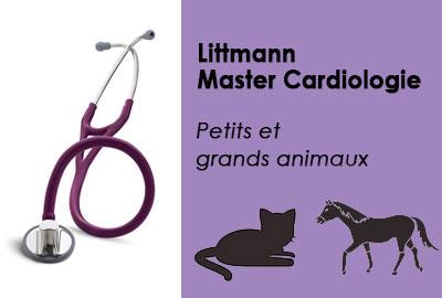 Stéthoscopemaster cardiologie pour vétérinaires