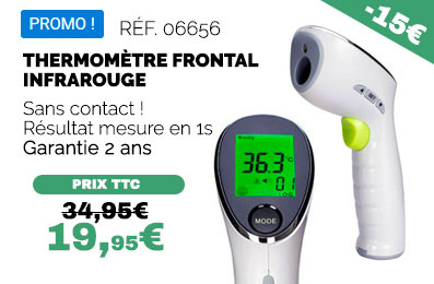 Achat thermomètre frontal en promotion