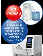 Distillateur d'eau Discom offert