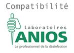 Compatibilité désinfection Anios