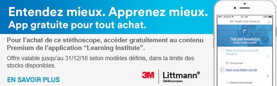 Appli 3M Littmann offerte
